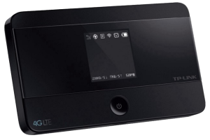 #1  of top 5 gadgets: Mobile WLan Router