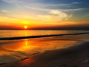 Sunset — Living Costs on Koh Lanta