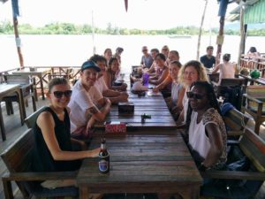 KoHub community on Koh Lanta - Communal Breakfast