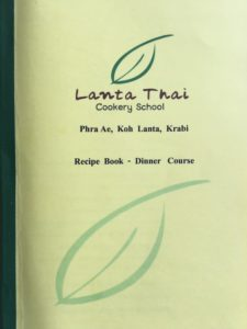 Thai Cookery School Recipes