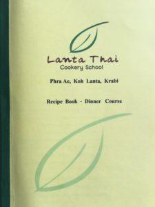 Thai Cookery School Recipes