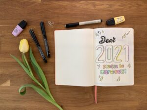 2021 quote - bullet journal for 2021