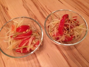 Green Papaya Salad - Thailand